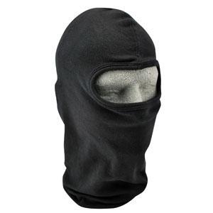 Cold Weather Headwear Cotton Balaclava, Black