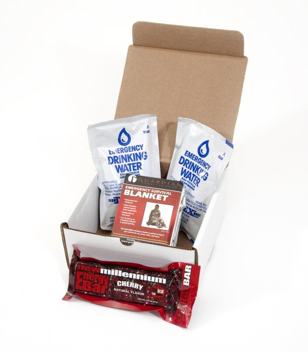 Guardian Survival Gear 1 Day Box Survival Kit