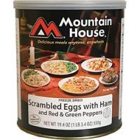 Mountain House Scrambled Eggs with Ham - 17 2/3 Cup Servings