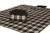 "Mega Mat Folded Picnic Blanket with Shoulder Strap - 48"" x 60"" (Red Scottie)"