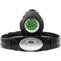 Pyle PHRM38BK Heart Rate Monitor Watch with Minimum, Average & Maximum Heart Rate (Black)