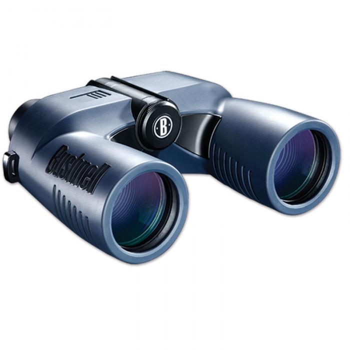 Bushnell 7x50mm Marine Porro Binocular w/ Digital Compass - Blue