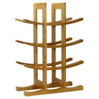 Oceanstar 12-Bottle Natural Bambbo Wine Rack