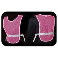 Women's Pink Reflective Vest