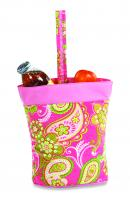 Picnic Plus Razz Lunch Tote - Pink Desire