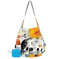 Love Bags Stash It Lightweight Tote, Hula Hula