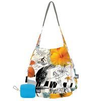Love Bags Stash It Lightweight Tote, Hula Hula