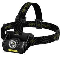 Nitecore HA20 Headlamp, Black/Yellow, 300 lm, 2 x AA