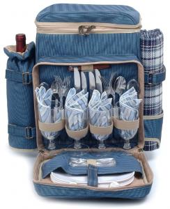 Picnic Backpacks for 4 by Picnic and Beyond