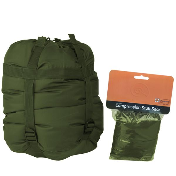 SnugPak Compression Stuff Sacks Olive Medium
