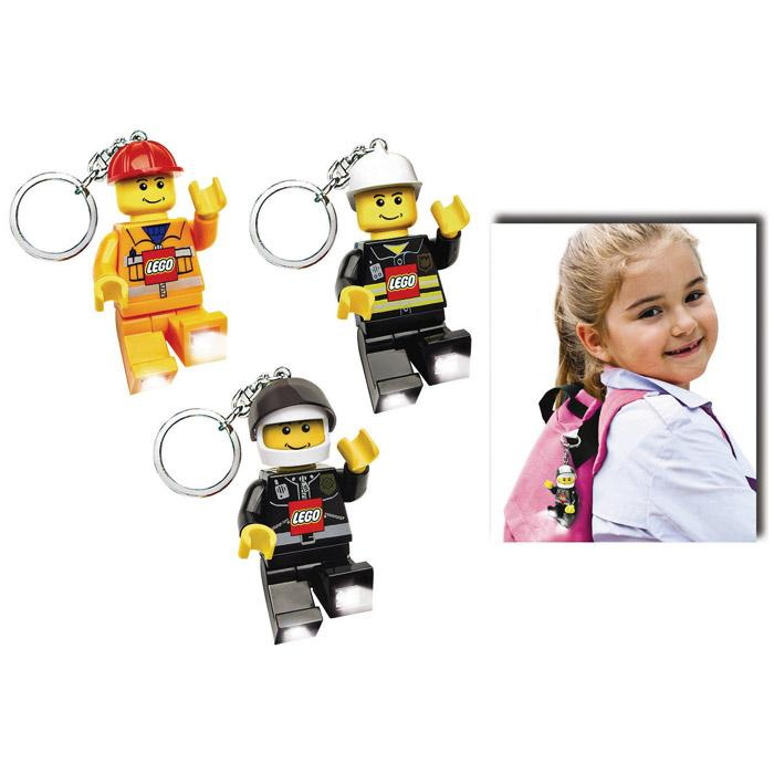 Sun Lego City Led Keychain - Assorted