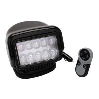 GoLight LED Stryker Wireless HH Rmt-Mag Base-Blk