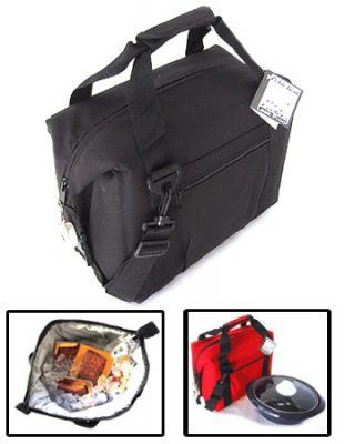 Polar Bear Black 12 Pack Soft Sided Cooler
