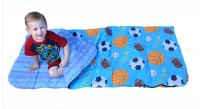 "Bazoongi Kids Slumber Bag - All Star Sports (Blue), 57"" x 30"""