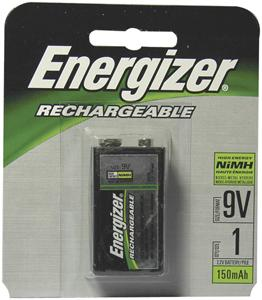 Energizer NH22NBP Rechargeable NiMH Batteries (9V 1-pk)