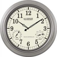 "La Crosse Technology 18"" Indoor / Outdoor Atomic Wall Clock"