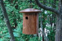 Byer of Maine Natural Chickadee House