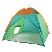 Pacific Play Tents Super Duper 4-Kid Dome Tent - Blue / Green / Orange