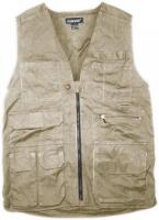 Humvee Concealed Weapons Vest - Khaki, Small