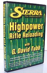 Sierra Advanced Rifle Reloading DVD