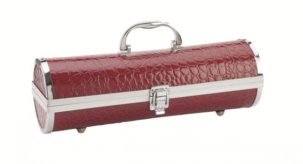 Primeware Gala Croc Wine Carrier, Red