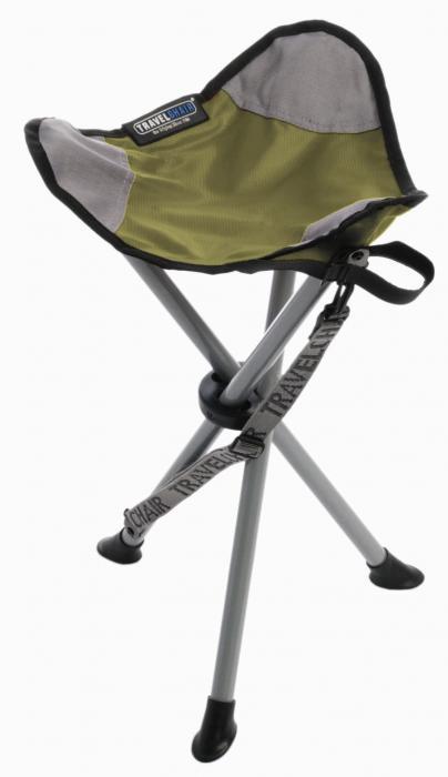 Travel Chair Slacker Stool, Green