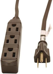 GE JASHEP50670 3-Outlet Grounded Office Cord (8 ft)