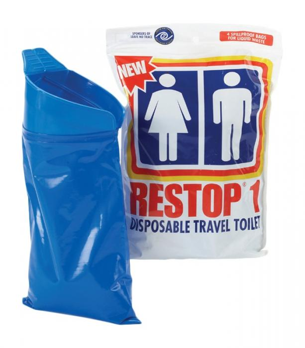 Restop 1 Disposable Urinal Bags, 12/4 Packs