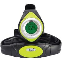 Pyle PHRM38GR Heart Rate Monitor Watch with Minimum, Average & Maximum Heart Rate (Green)