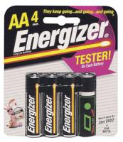 Energizer E91BP-4 Long-Life Alkaline Batteries (AA 4-pk)