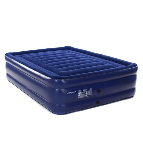 Smart Air Beds Deluxe Flock Top Raised Queen Size Inflatable Air Bed Mattress (BD-1324F)