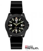 Smith & Wesson Tritium Watch with Rubber Strap