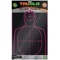 Target Handgun 12X18 Pnk 6Pk
