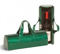 Picnic Plus Carlotta Clutch Wine Bottle Clutch - Emerald Swirl