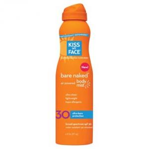 Kiss My Face  Cont Spray Sunscreen - Spf30