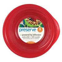 Preserve Bowls 4 Ct  Red