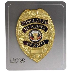 Badges & Badge Holders by Fury Sporting Cutlery