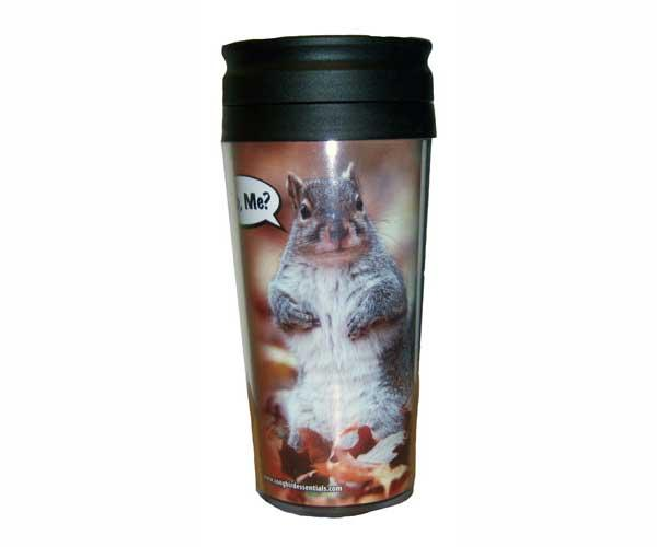 "Songbird Essentials Poly Thermal Mug ""Who Me?"""