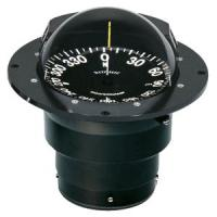 Ritchie FB-500 Globemaster Compass - Flush Mount - Black