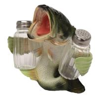 Rivers Edge Products Bass Salt And Pepper Shaker
