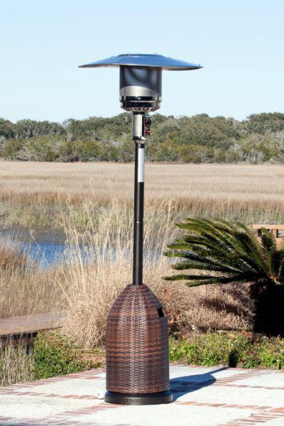 Fire Sense 46,000 BTU All Weather Wicker Patio Heater