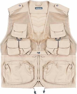 Humvee Tactical Vest - Khaki, XXX Large