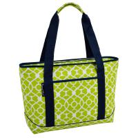 Picnic at Ascot ECO Large Insulated Tote/Cooler Bag - Trellis Green