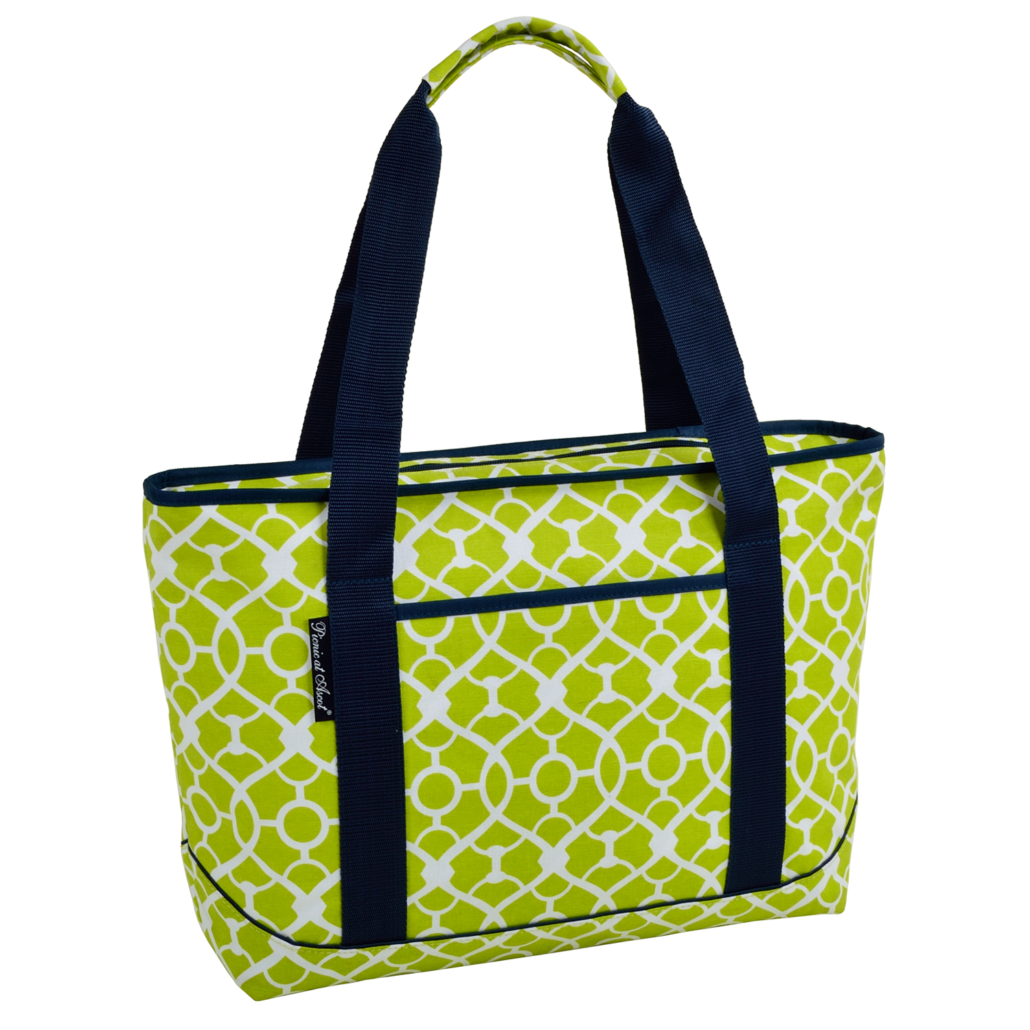 Picnic At Ascot Large Insulated Cooler Bag 24 Can Tote
