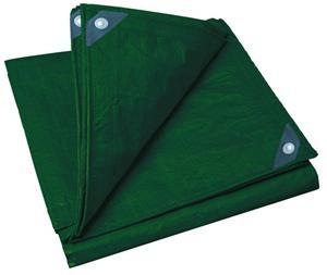 Stansport Rip Stop Tarp - 10' x 12' - Green - PDQ Pack
