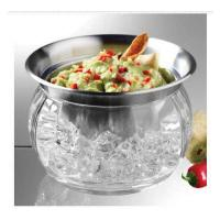 Prodyne Iced Dip- Stainless Steel & Acrylic Dip Cup