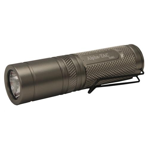 ExtremeBeam Alpha-Tec S.A.R. 5 LED Flashlight, Green Button - 450 Ft Range