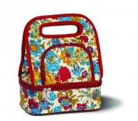 Picnic Plus Savoy Lunch Tote with Storage Container, Floribunda