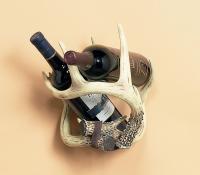 Rivers Edge Products Deer Antler Single Wine Bottle Holder