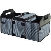 Picnic at Ascot Trunk Organizer and Cooler Set - Houndstooth